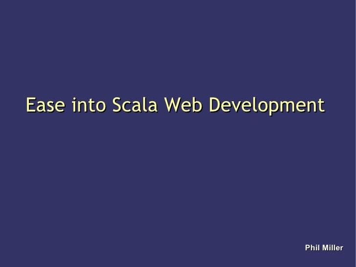 Scala Presentation Work