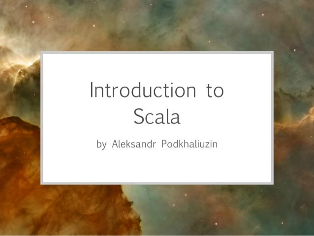Scala training