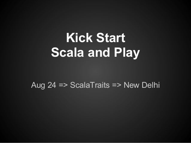 Scala traits aug24-introduction