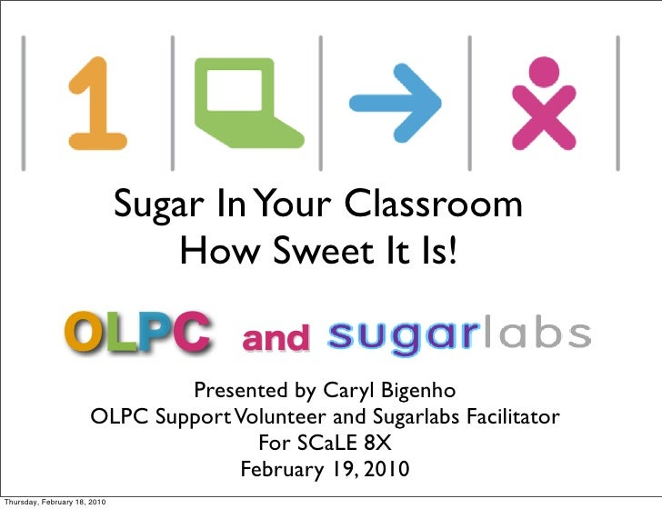Sugar In Your Classroom                                  How Sweet It Is!                                 Presented by Car...