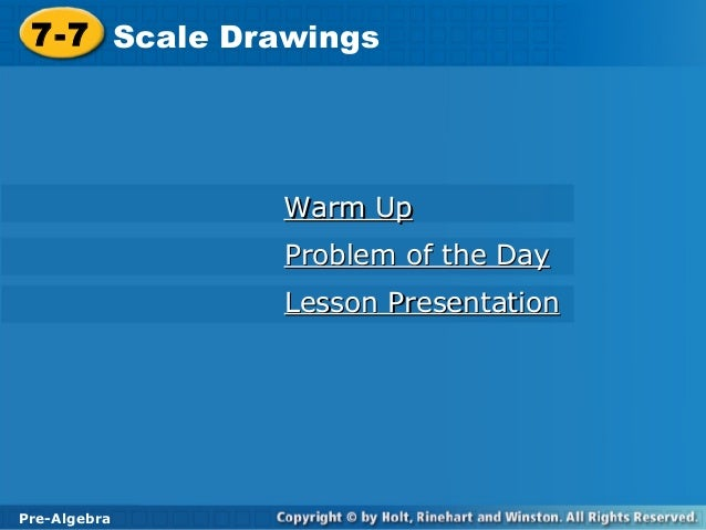 Scale drawing ppt
