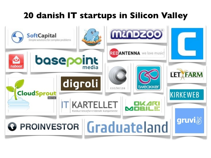 20 danish IT startups in Silicon Valley