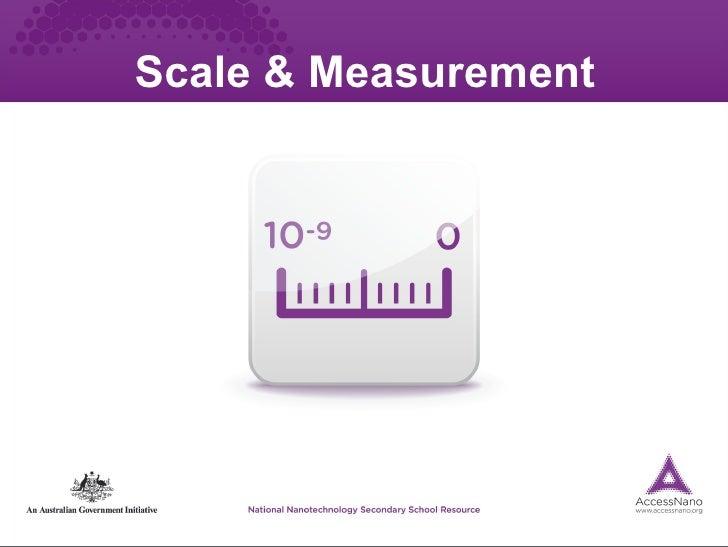 Scale & Measurement