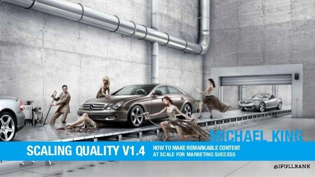 Scaling Quality v1.3