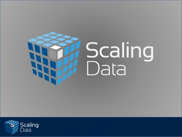"Confidential and Proprietary of Scaling Data All Rights Reserved2Scaling Data introductionWhat is ""Big Data""Hadoop Capabil..."