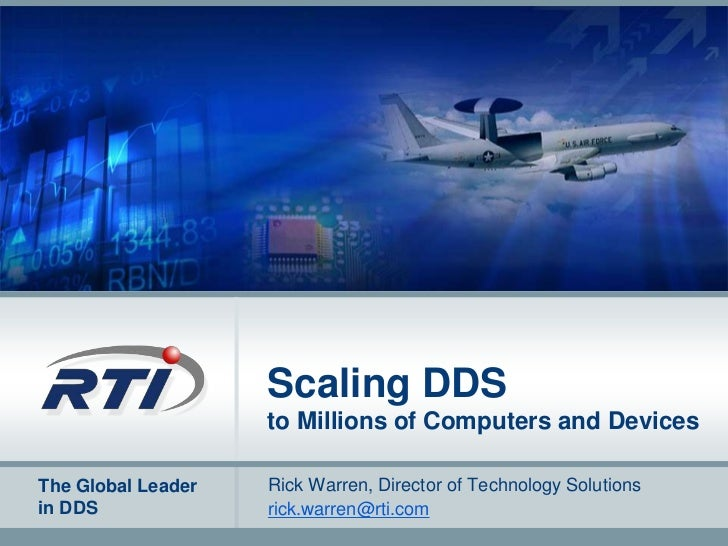 Scaling DDS to Millions of Computers and Devices