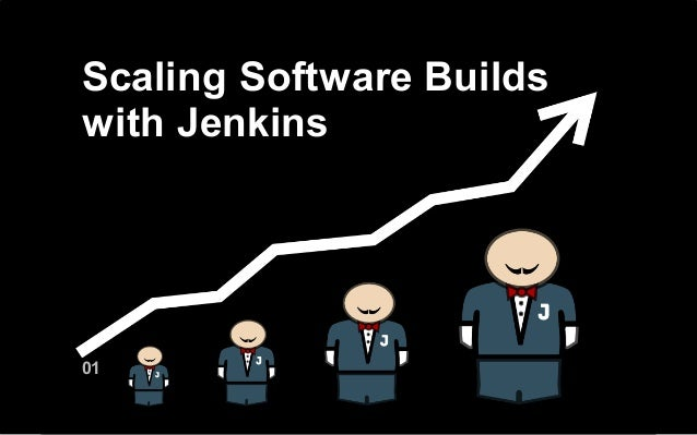 Scaling software builds with Jenkins