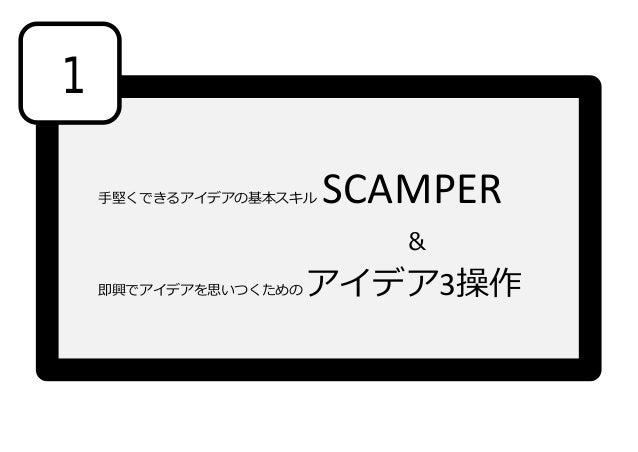 Scamper_アイデア3操作