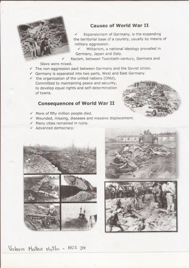 causes and effects of world war 2 essay