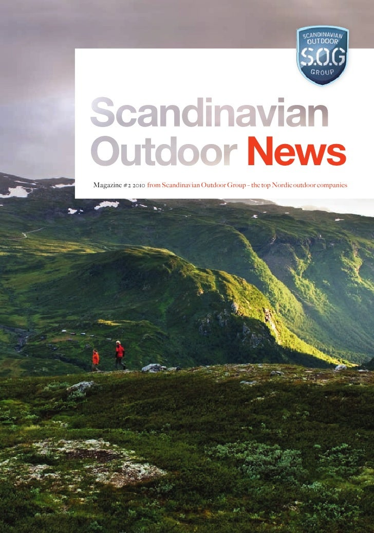 NewsMagazine #2 2010 from Scandinavian Outdoor Group – the top Nordic outdoor companies