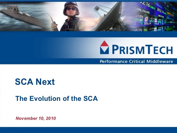 SCA Next Part 1 - Software Defined Radio (SDR) Webcast Slides