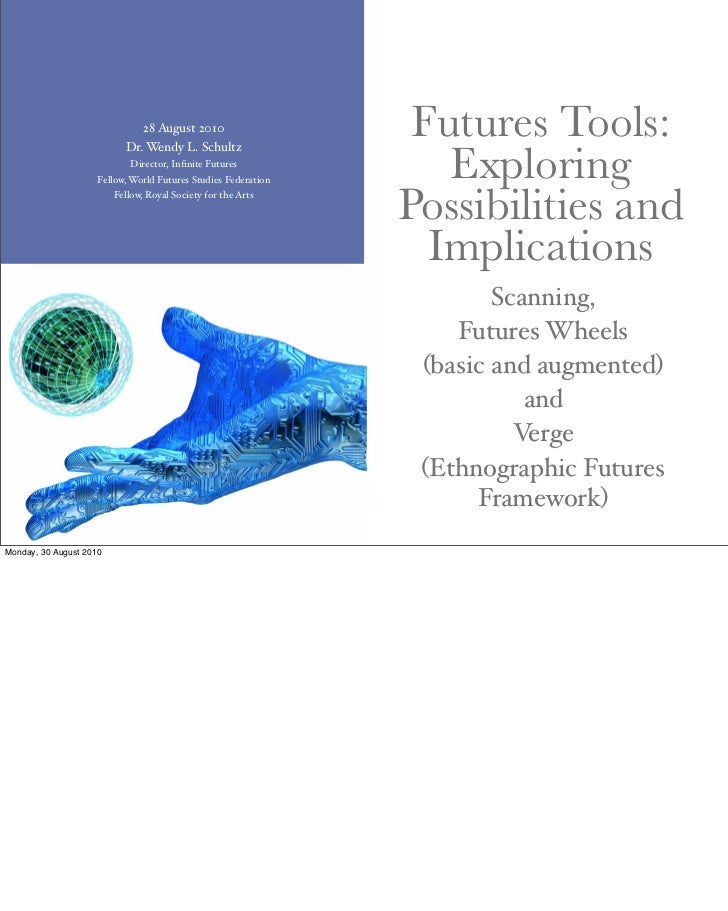 Futures Tools: scanning, futures wheels, Verge.