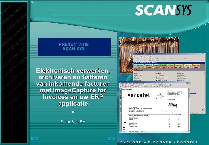 Scan Sys Presentatie Factuurcongres 2009