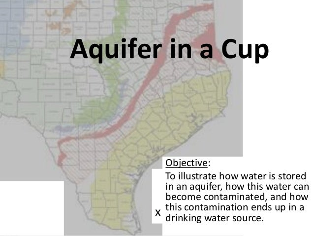 SC Aquifer in a cup 2013 w/out answers