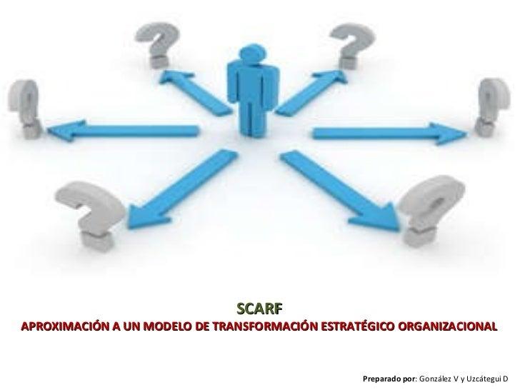 Scarf. una aproximación a un modelo de transformación estratégico organizacional bajo el enfoque de la neurociencia