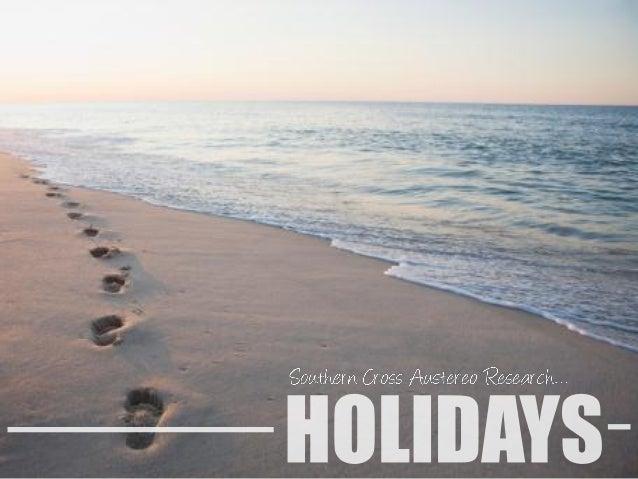 Scar holidays 2014