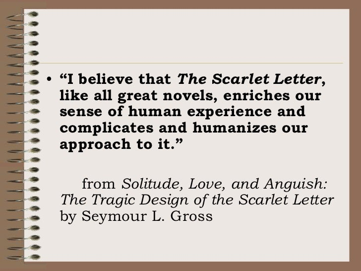the scarlet letter an in depth