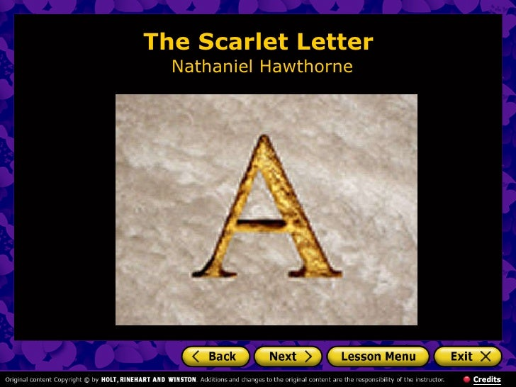 a discussion about the puritan society in the scarlet letter by nathaniel hawthorne Letter written by nathaniel  the scarlet letter written by nathaniel hawthorne  portrayal of puritan society in hawthorne's the scarlet letter.