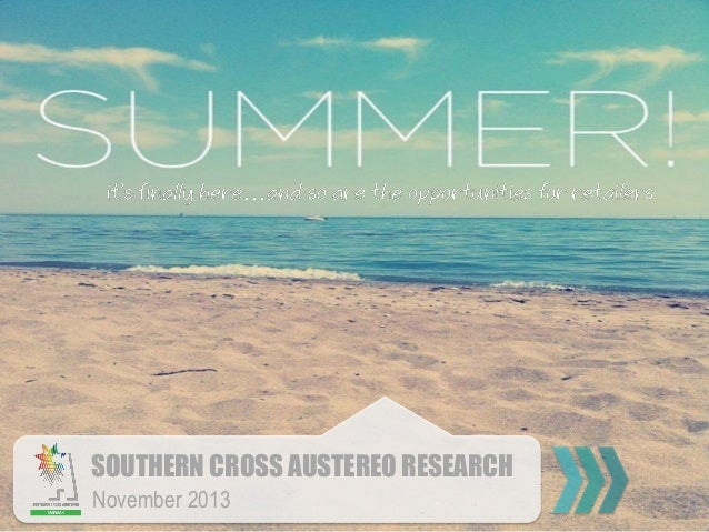 SOUTHERN CROSS AUSTEREO RESEARCH November 2013