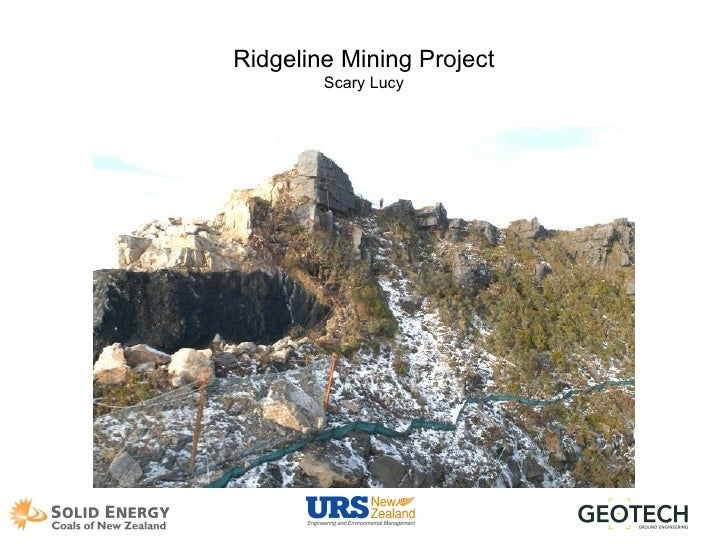 Ridgeline Mining Project Scary Lucy