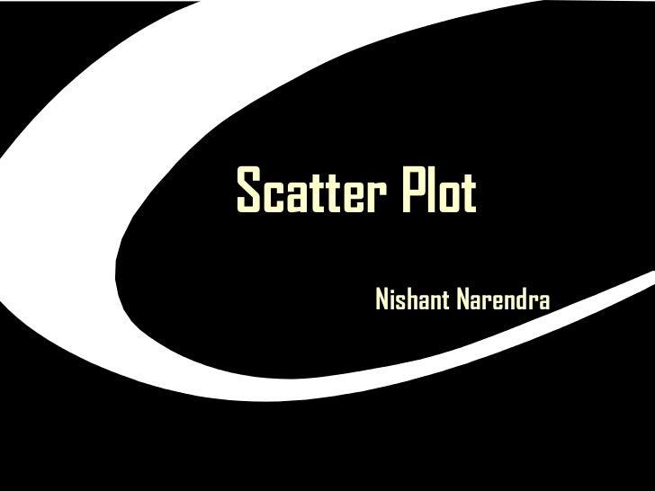 Scatter Plot   Nishant Narendra