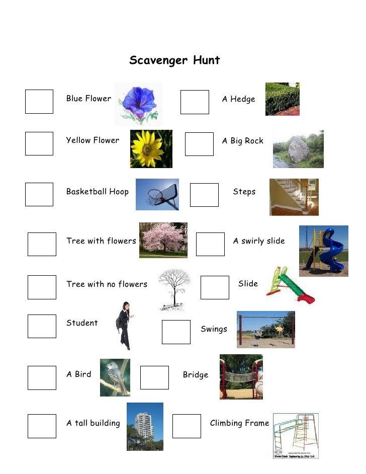 Scavanger hunt 2