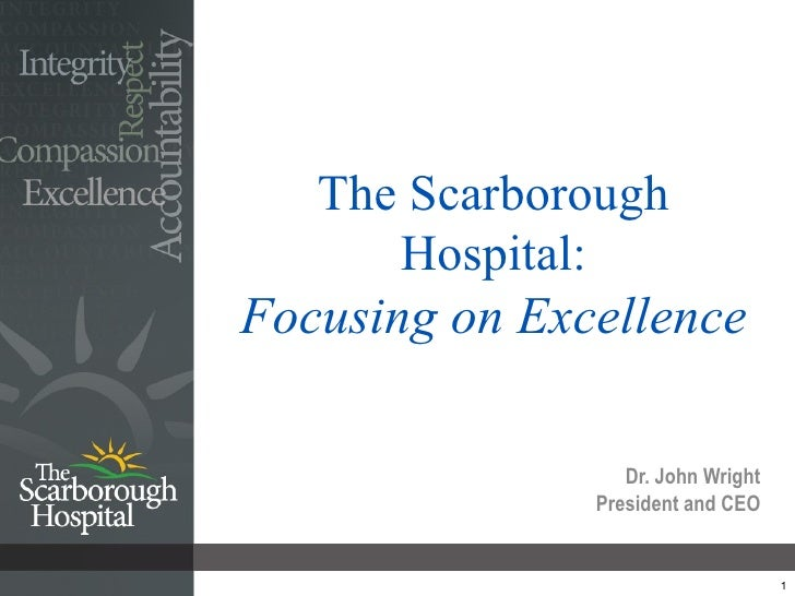 TSH - Focusing on Excellence