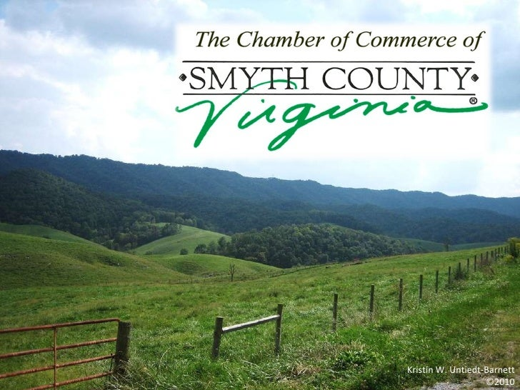 Chamber of Commerce of Smyth County, Inc. - Info S2010