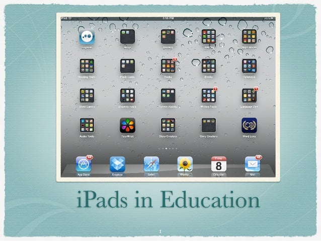 iPads in Education        1
