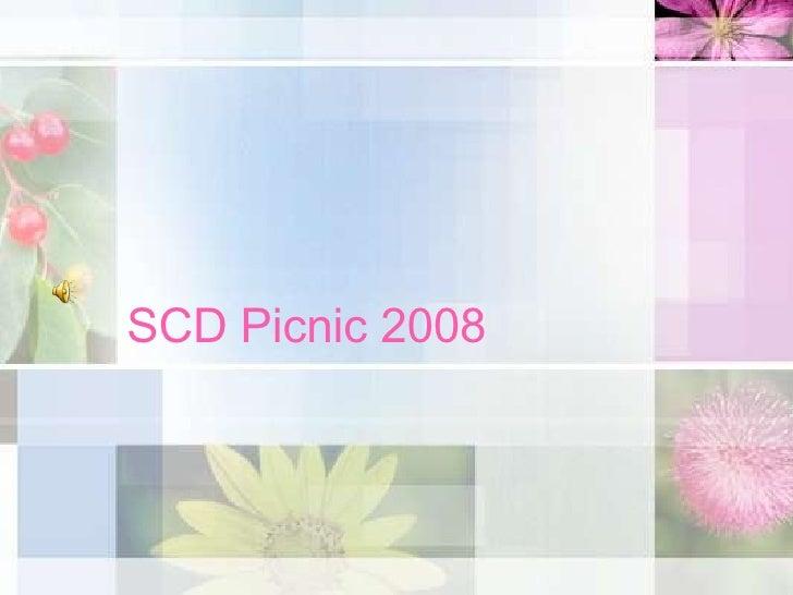 SCD Picnic 2008