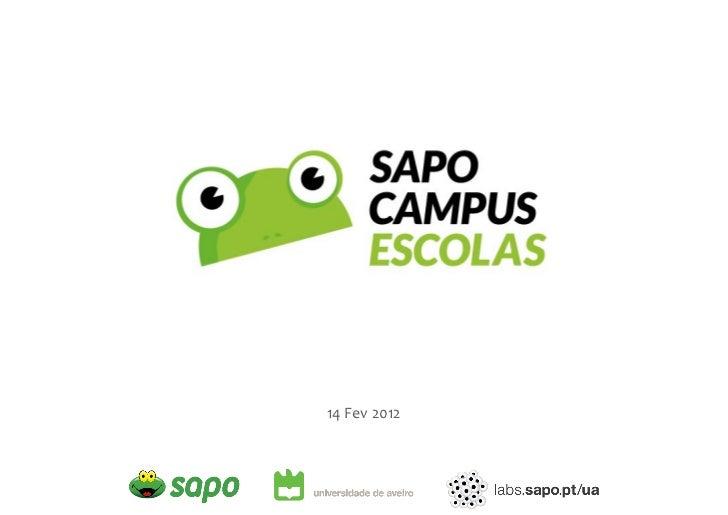 Apresentação SAPO Campus Escolase