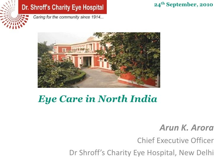 Eye Care in North India