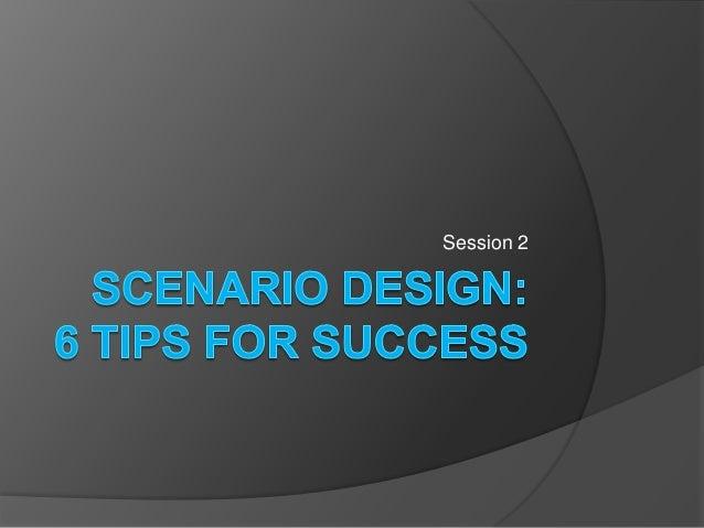 Scenario design 2014 02-11 ver2pgd (1)