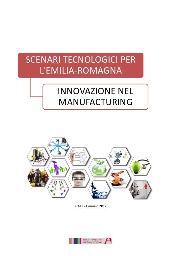 Innovazione nel Manufacturing