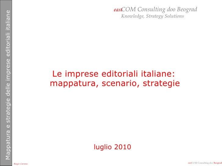 Scenario media italiani master luglio 2010
