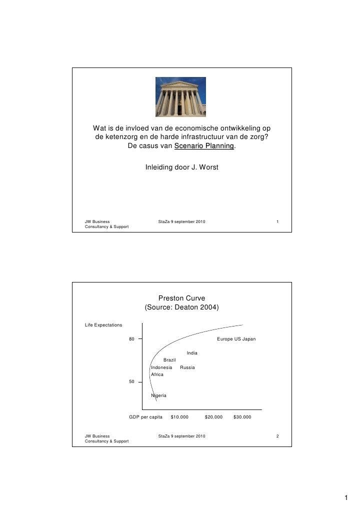 Scenarioplanning presentatie 9-9-2010 (jan worst)