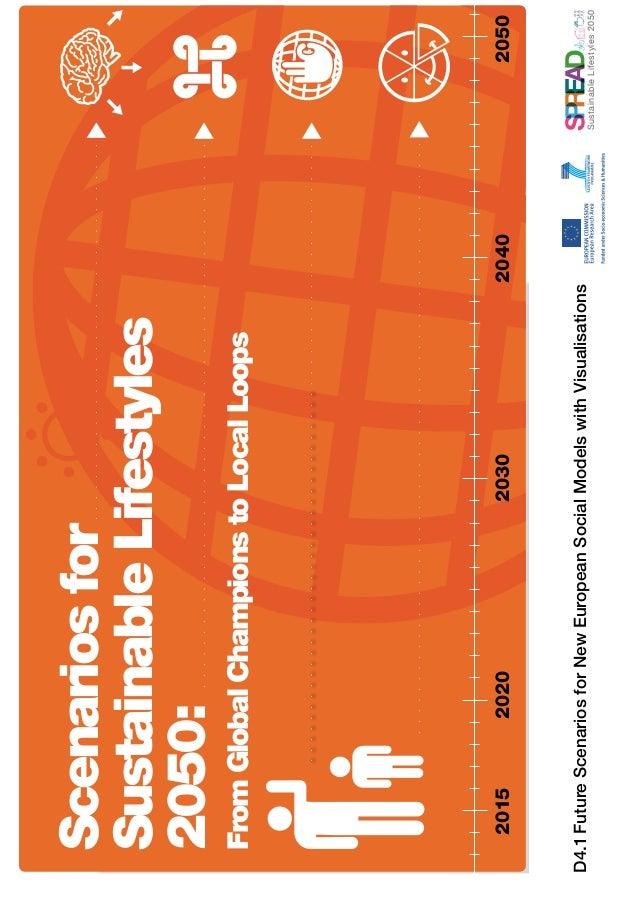 SustainableLifestyles2050D4.1FutureScenariosforNewEuropeanSocialModelswithVisualisations20152020203020402050ScenariosforSu...