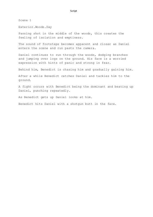 Scene 1 script