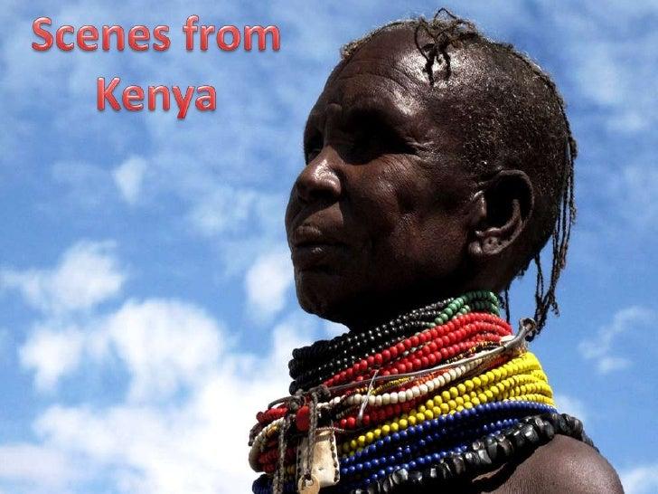 Scenes from Kenya<br />