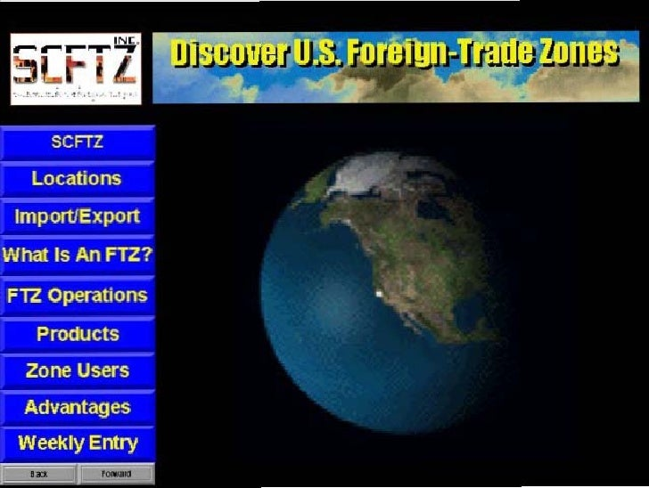 Foreign Trade Zone presentation