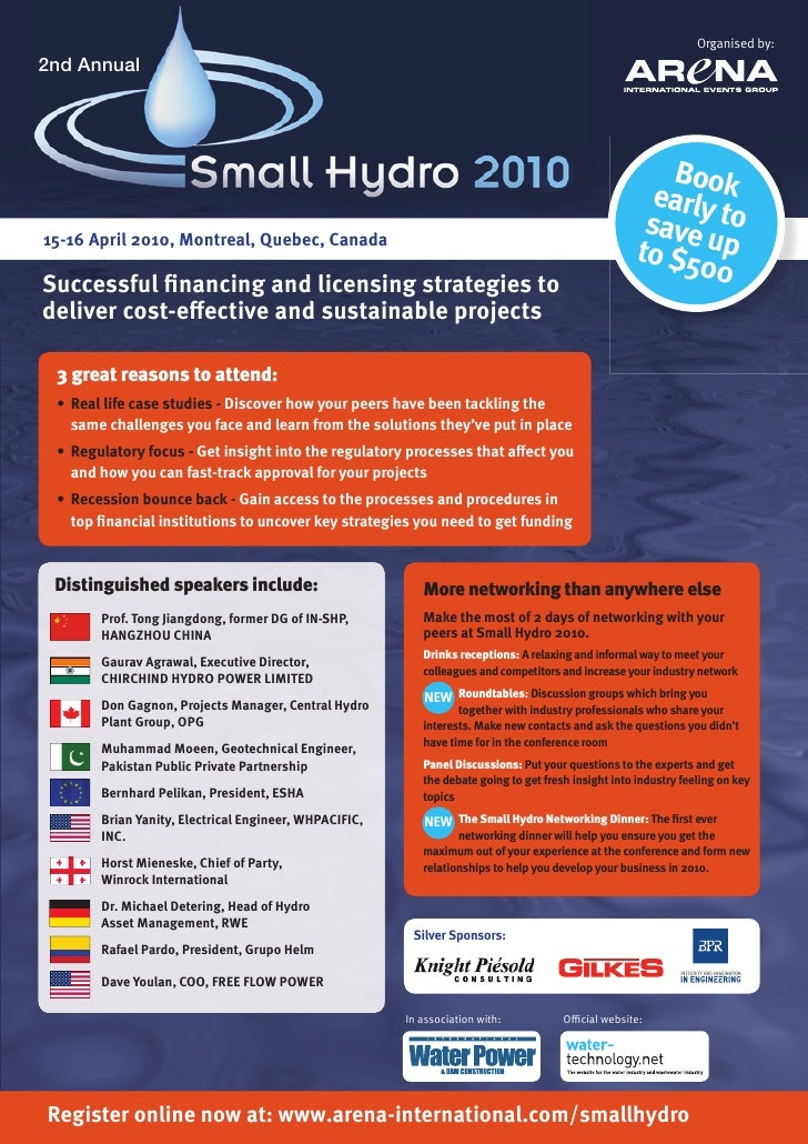 Small Hydro Conference