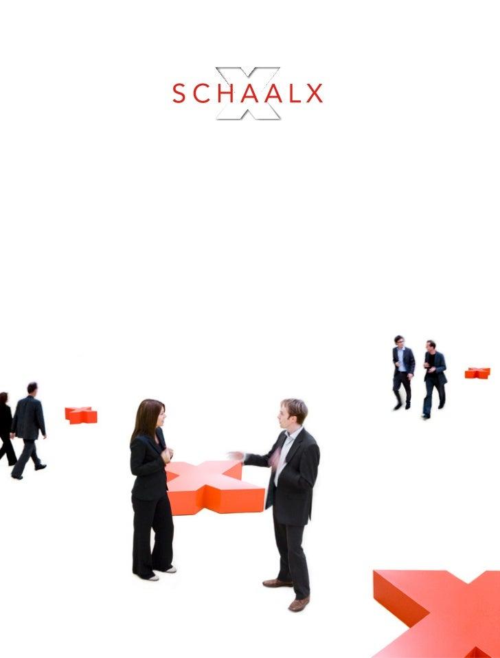 SchaalX Korte Presentatie