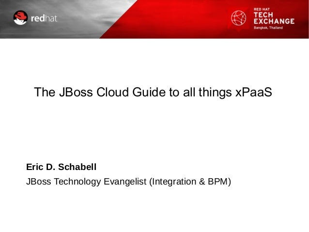 The JBoss Cloud guide to all things xPaaS