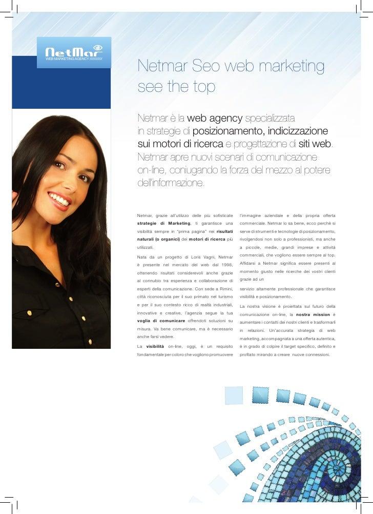 Netmar Seo web marketing WEB MARKETING AGENCY ///////////////                                            see the top      ...