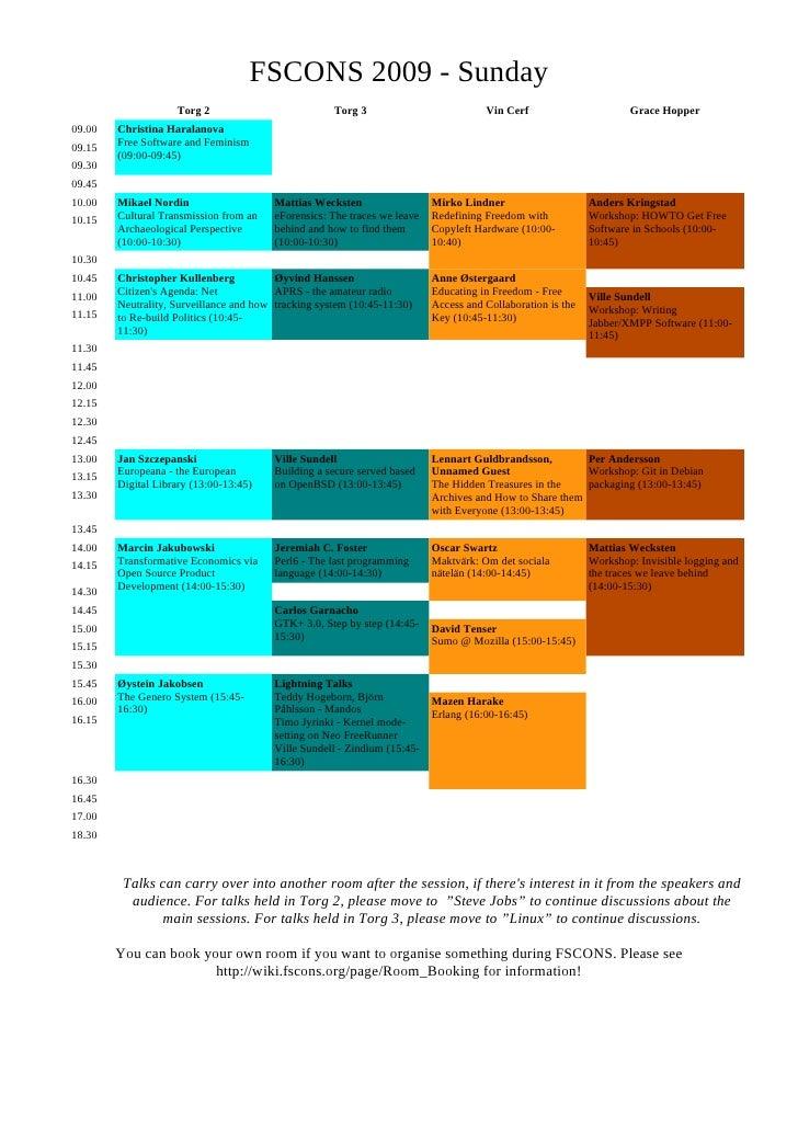 Schedule Day2