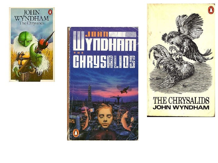 "chrysalids john wyndham essay In this essay i will compare two novels which deal with similar themes but in significantly different ways: ""the chrysalids"", a science fiction novel by john wyndham published in 1955 and ""brave new world"", a novel by aldous huxley published in 1932."