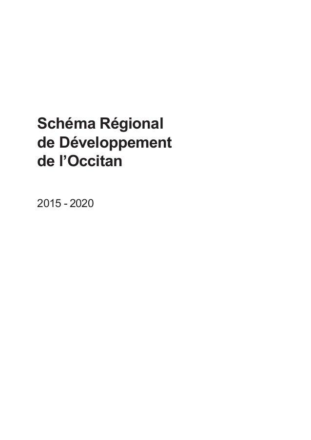 Schéma Régional de Développement de l'Occitan 2015 - 2020