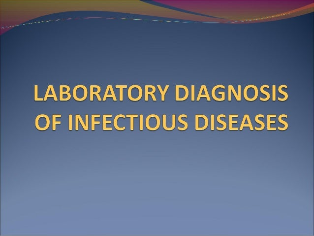 Infectious diseases They are clinically evident diseases with the potential of  transmission from one person or species t...