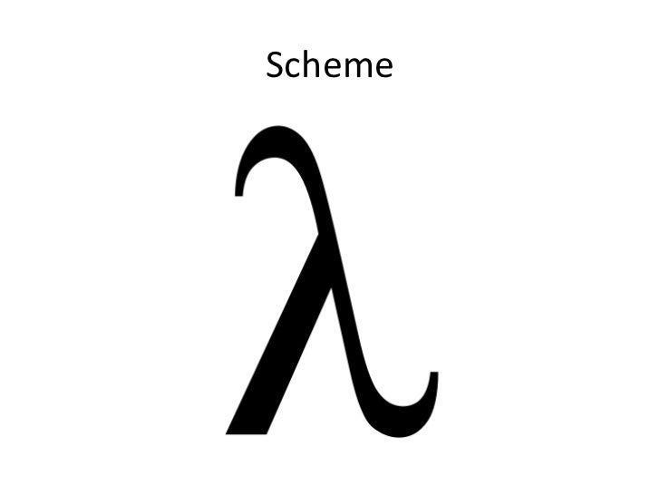 Scheme presentation