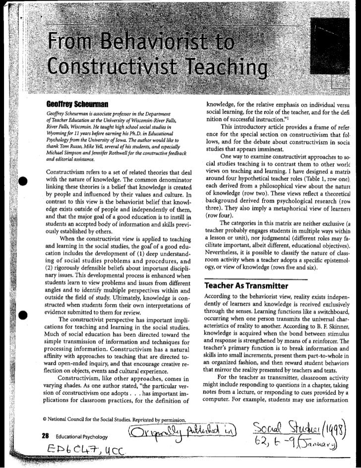 Scheurman behaviourist to contructivist.pdf000